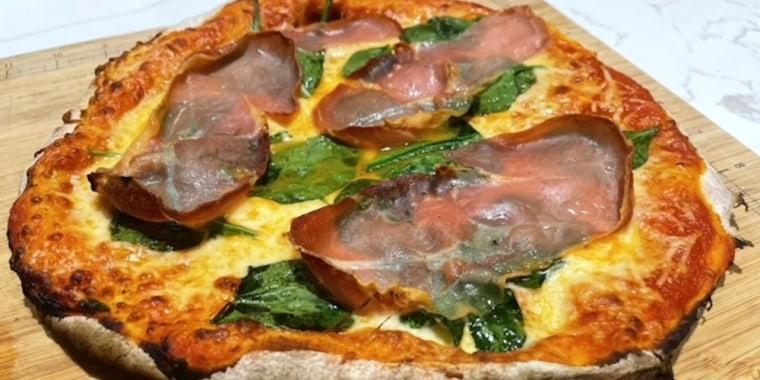 Dylan Dreyer's Homemade Pizza