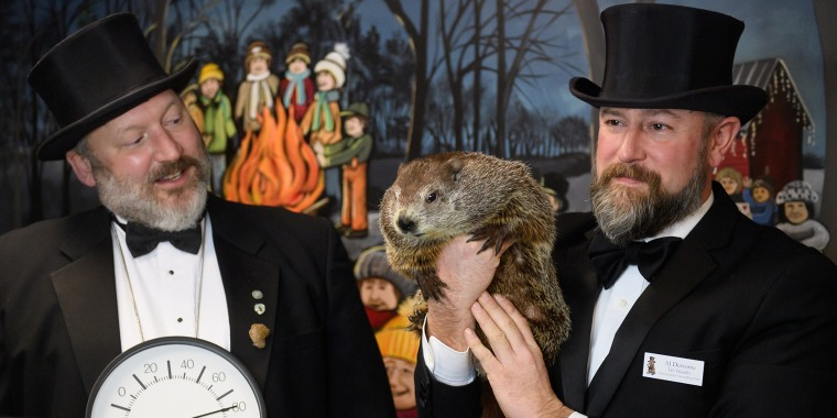 Annual Groundhog's Day Tradition In Punxsutawney, Pennsylvania Will Take Place Without The Usual Crowd