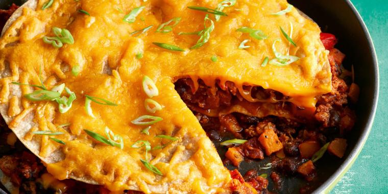 Joy Bauer's One-Skillet Enchiladas