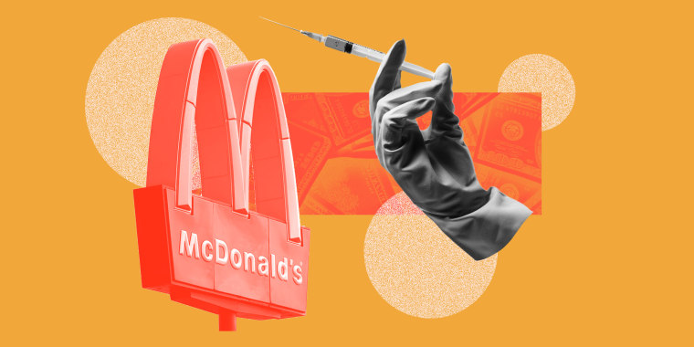 McDonald's: Get Your Vaccine With A Side Of Fries