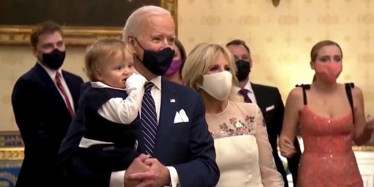 Beau Biden, President Joe Biden, and Dr. Jill Biden