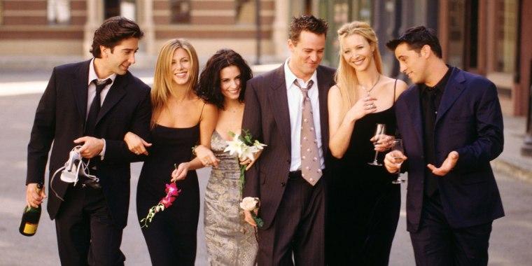 Cast of Friends image