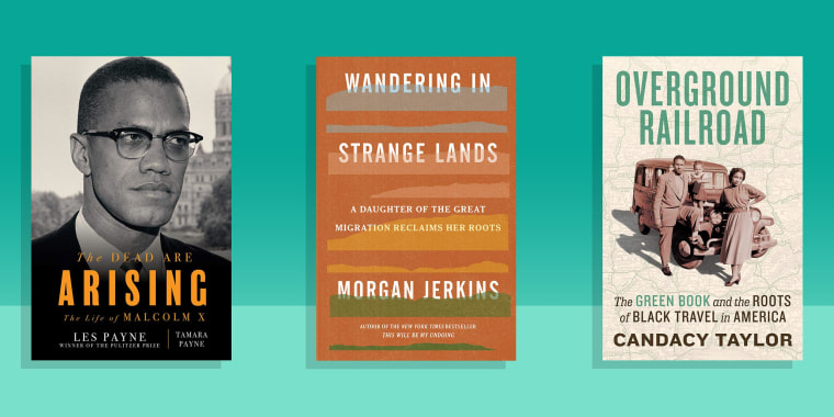 Illustration of 3 of 10 best new African American histories and biographies, according to Goodreads members
