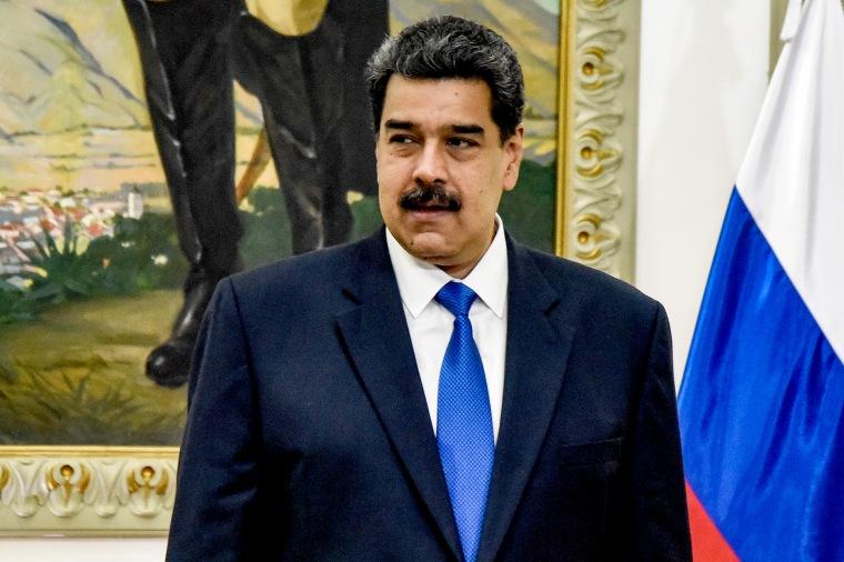 Nicolas Maduro - Sergey Lavrov meeting in Caracas
