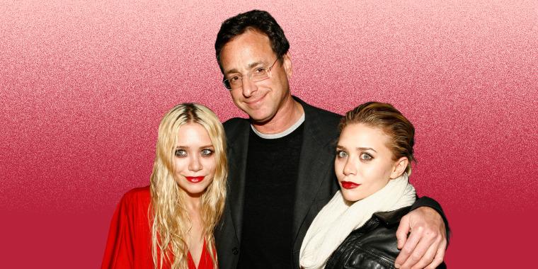 Mary-Kate Olsen, Bob Saget and Ashley Olsen