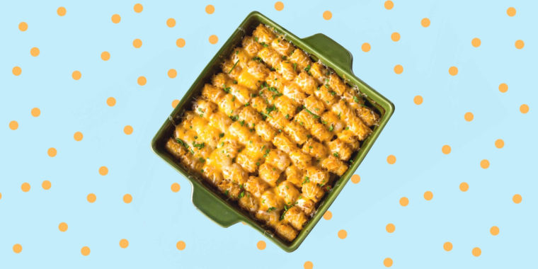 Skip the breadcrumbs and try topping a casserole with delightful Tater Tots.