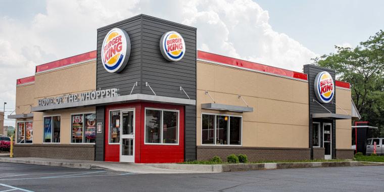 """Image: Burger King's Newest """"20/20"""" Design"""