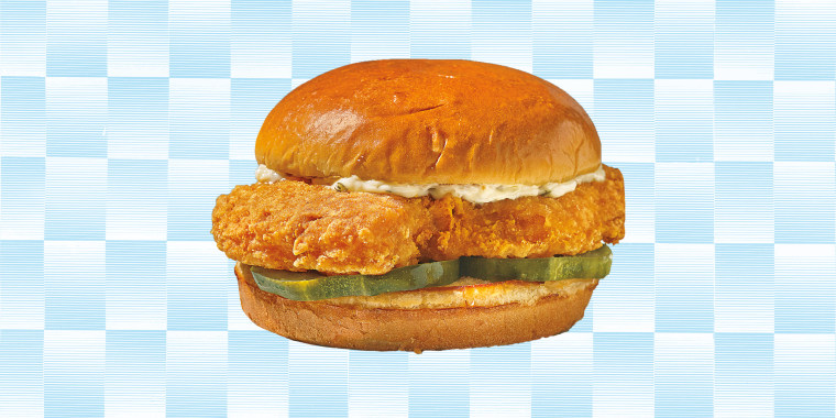 On Thursday, Popeyes is introducing its first-ever fried fish sandwich.