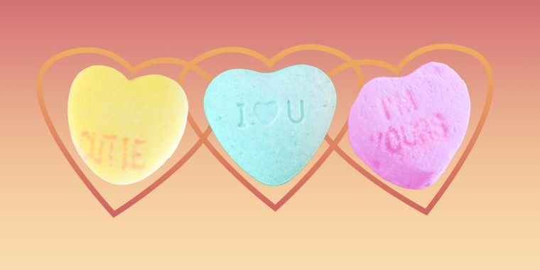 Conversation hearts are a long-running staple for Valentine's Day.