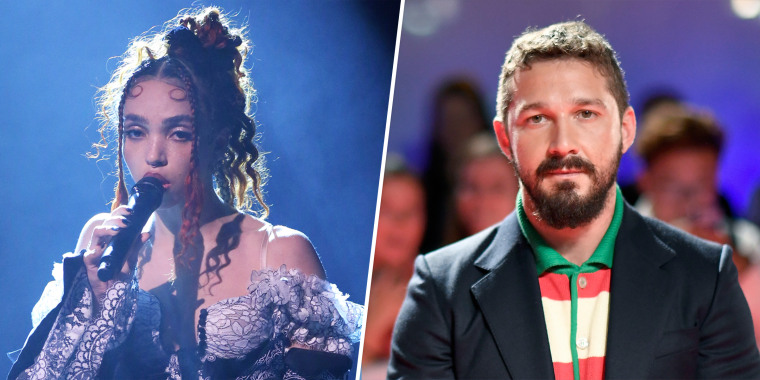 """The British singer FKA twigs accused the """"Transformers"""" actor in a lawsuit of repeatedly assaulting her and inflicting emotional distress."""
