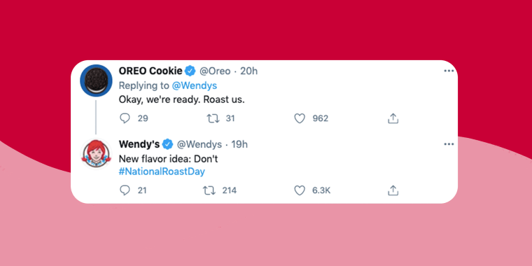 Wendy's Twitter account has mastered the art of roast — and not in the culinary sense of the word.