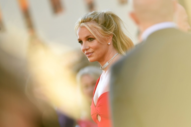 Image: Britney Spears at a premiere in Hollywood