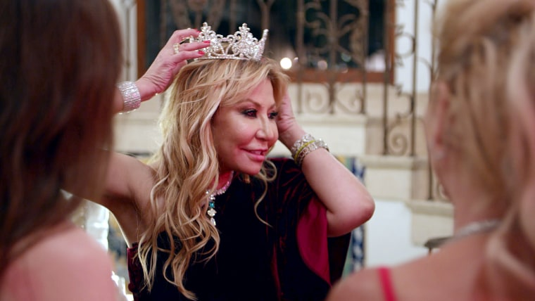 """Anna Shay in """"Bling Empire"""" on Netflix."""
