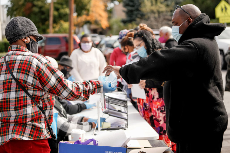 Image: Outreach to Black community to increase vaccine trial participation in Rochester, NY