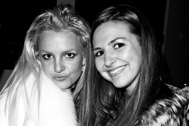 Britney Spears and Alli Simms inside The ScandinavianStyle Mansion Dec. 1, 2007 in Bel Air, Calif.