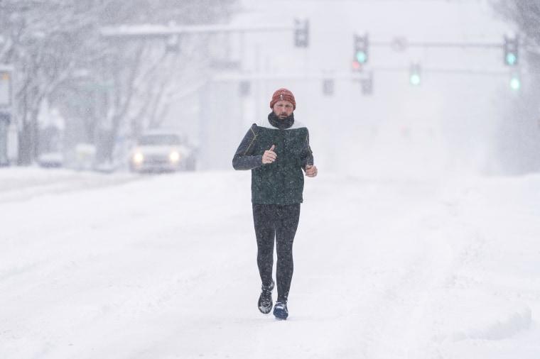 Image: Snow in Western Washington
