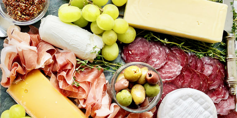 There is a reason why charcuterie and cheese is the classic.