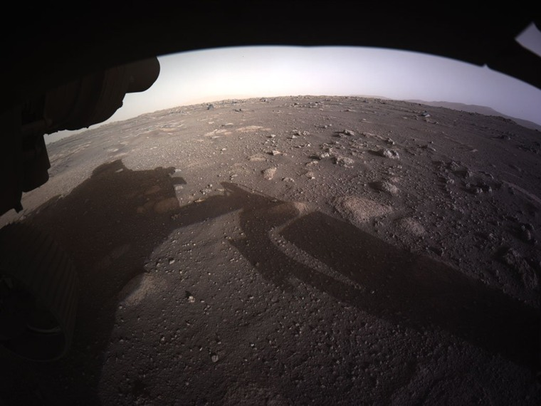 Image: *** BESTPIX *** NASA Perseverance Rover Lands On Mars