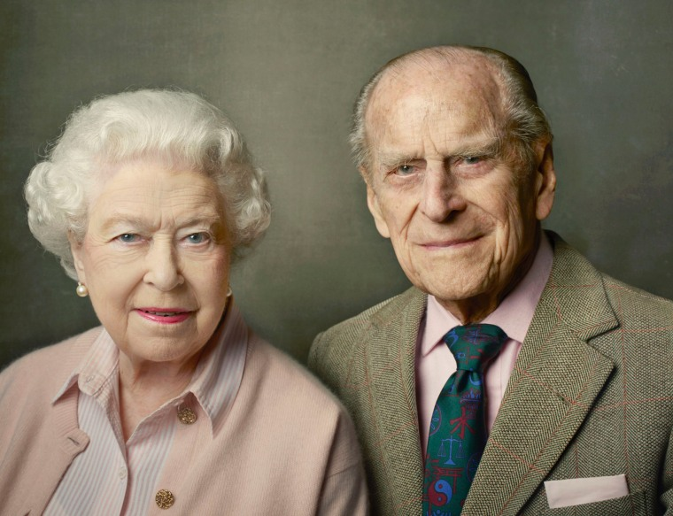 Image: Britain's Queen Elizabeth II and Prince Philip, Duke of Edinburgh pictured at Windsor Castle just after Easter in 2016.