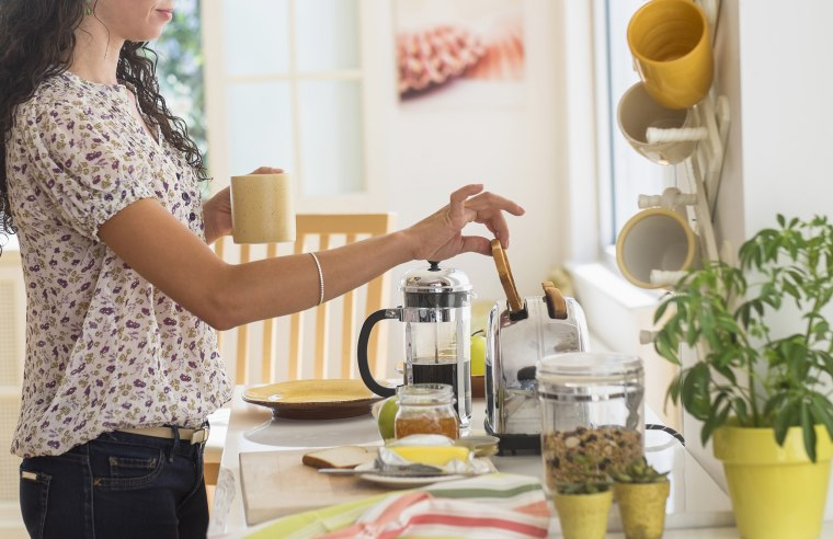 Mixed race woman preparing breakfast in kitchen, Here are the 6 best toasters of 2021, according to experts. These top-rated bread toasters are from brands like Black + Decker, Cuisinart, Breville, Oster and Smeg.