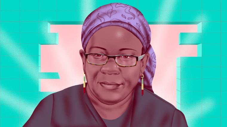 Image: Illustration of Mariame Kaba.