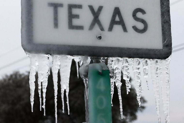 Image: Texas Struggles With Unprecedented Cold And Power Outages