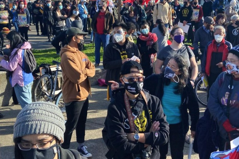 Image: Amid wave of violence, Asian Americans, Black communities build coalitions