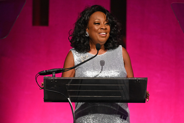 Star Jones speaks on stage at the Angel Ball 2019 hosted by Gabrielle's Angel Foundation at Cipriani Wall Street on Oct. 28, 2019 in New York City.