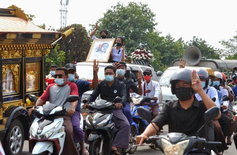 Image: MYANMAR-POLITICS-MILITARY