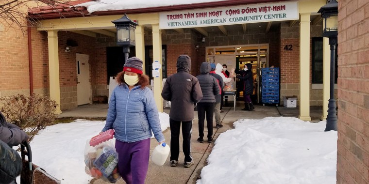 Food insecurity among Asian Americans is a persistent but overlooked problem that has become more urgent during the pandemic. In response, VietAid in Boston is providing free groceries and meals to members of the community.