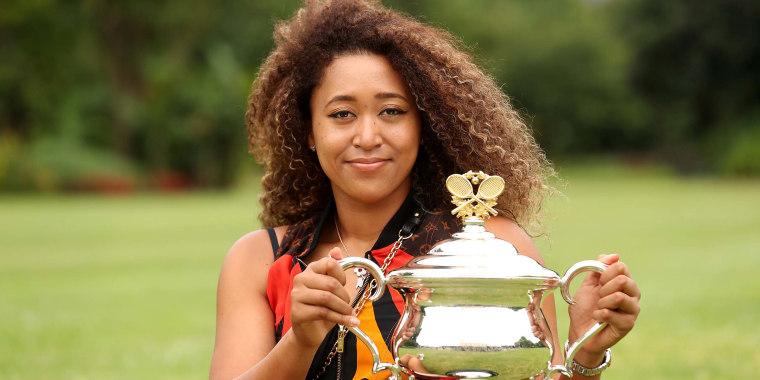 2021 Australian Open Women's Trophy Media Opportunity