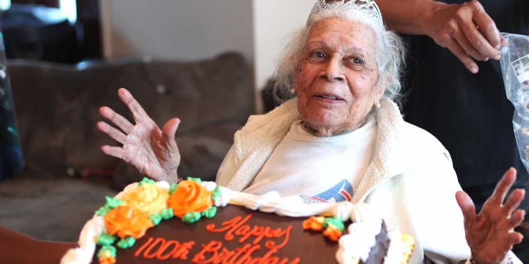 Meet Lucia, DeClerck, a 105-year-old who recently beat COVID-19.
