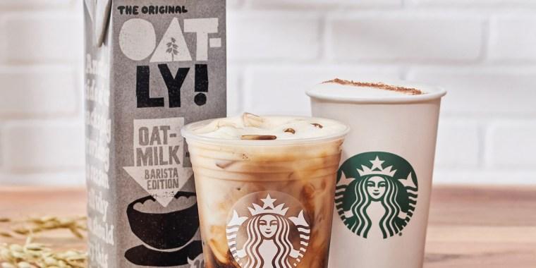 Starbucks oatmilk