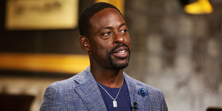 Sterling K. Brown appears on Sunday TODAY with Willie Geist on Oct,. 16, 2019.