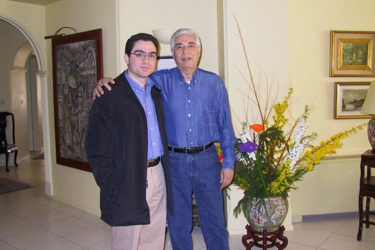 Image: Siamak and Baquer Namazi.