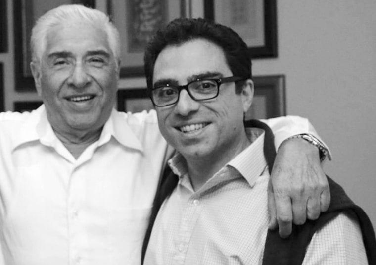 Image: Baquer and Siamak Namazi