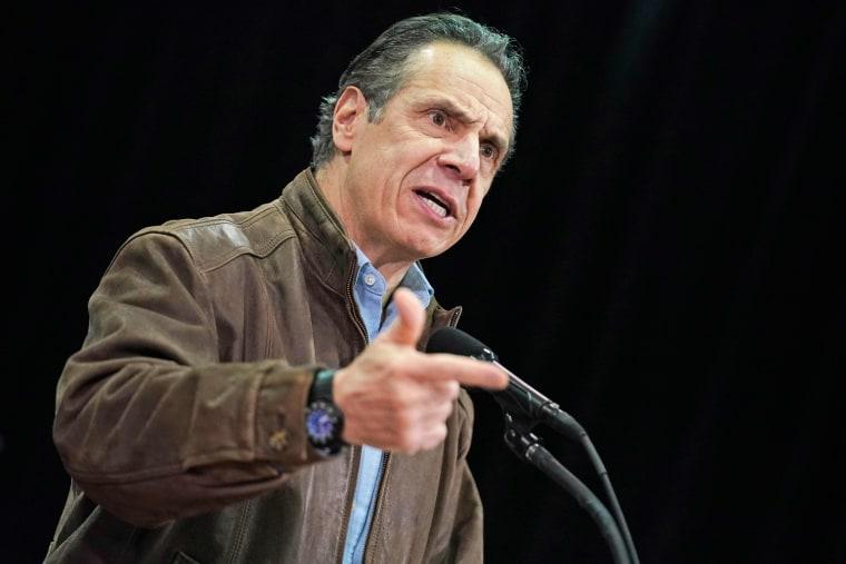 Image: New York Governor Andrew Cuomo