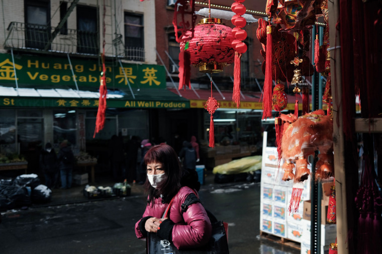 Image: New York City's Chinatown Prepares For Lunar New Year