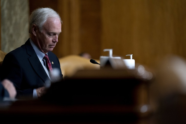 Image: Ron Johnson on Capitol Hill