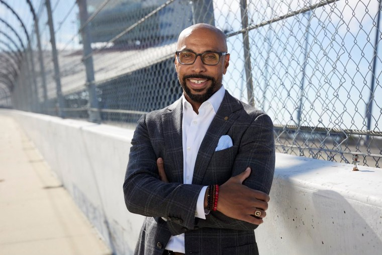 Erik A. Moses, the first Black president of any NASCAR track, understands the significance of seeing Black representation in the NASCAR community.