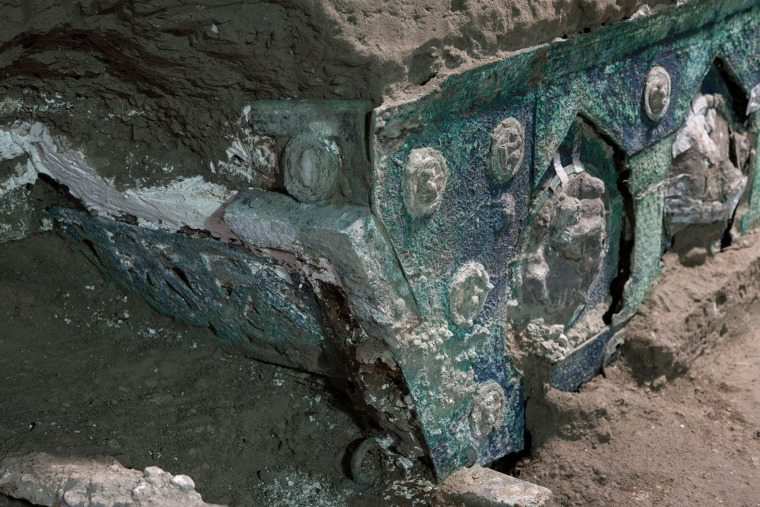 Image: ITALY-ARCHAEOLOGY-CULTURE-HERITAGE-POMPEII