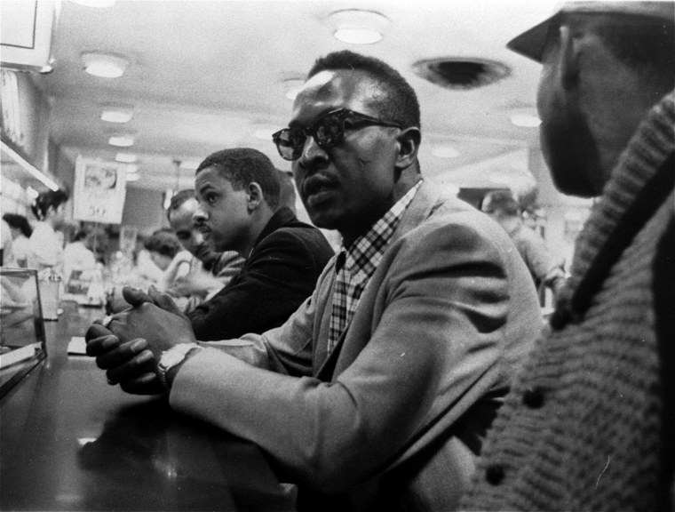 Image: Lunch counter Woolworth protest