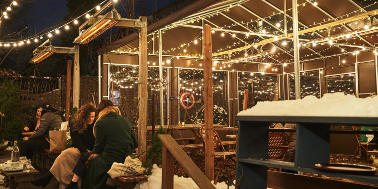 In the past year, Olmsted owner Greg Baxtrom and his staff have donated food to those in need and turned the dining room into a makeshift market known as the Olmsted Trading Post, while still offering outdoor dining.