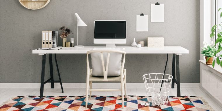 These office rugs will transform your work from home space in just minutes