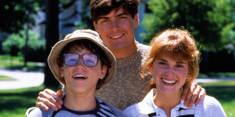 LUCAS, Corey Haim, Charlie Sheen, Kerri Green, 1986. TM and Copyright (c) 20th Century Fox Film Corp
