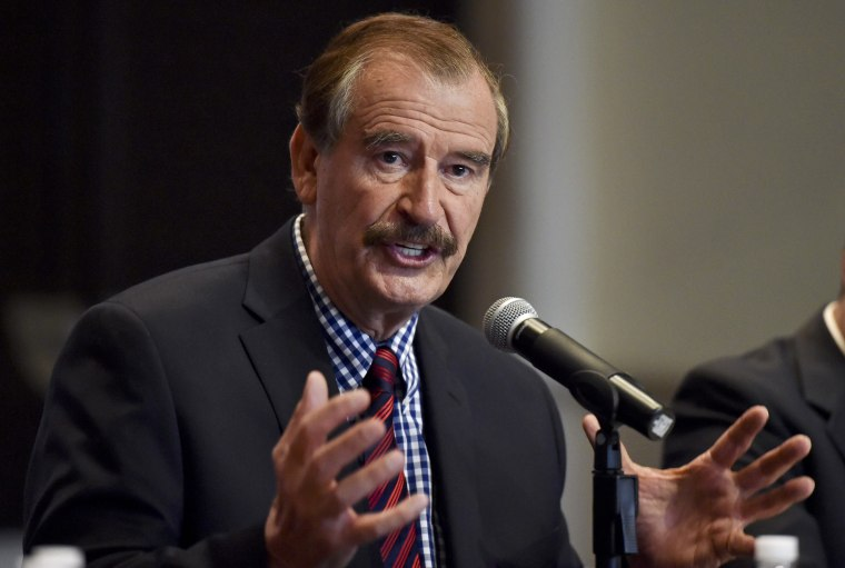 Image: Former Mexican President Vicente Fox