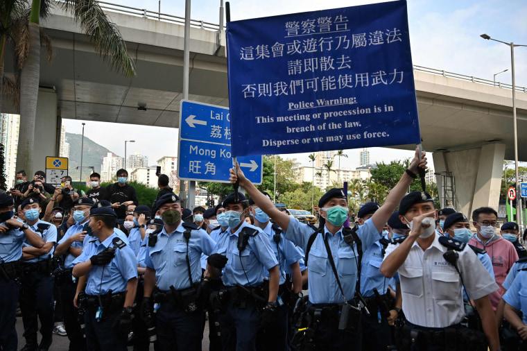 Image: HONG KONG-CHINA-POLITICS