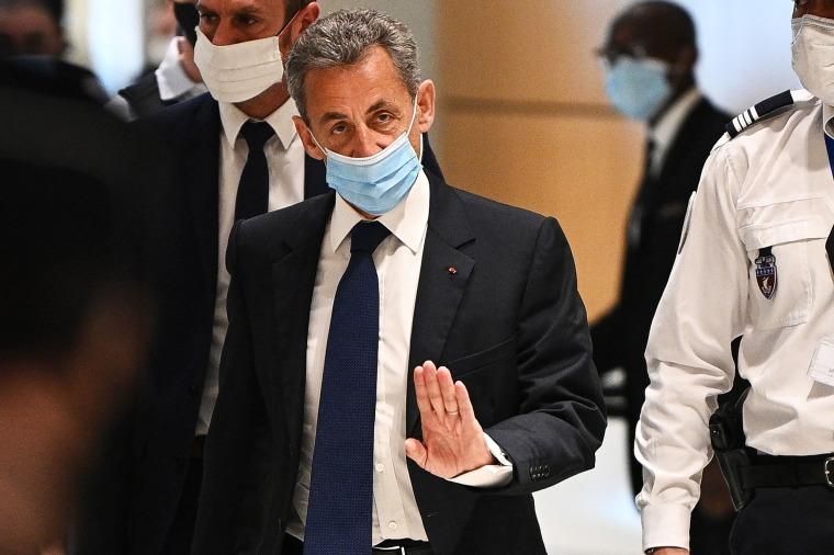 Image: FRANCE-TRIAL-CORRUPTION-SARKOZY