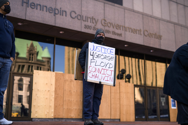 Image: Minneapolis Prepares For Possible Unrest As George Floyd Trial Approaches