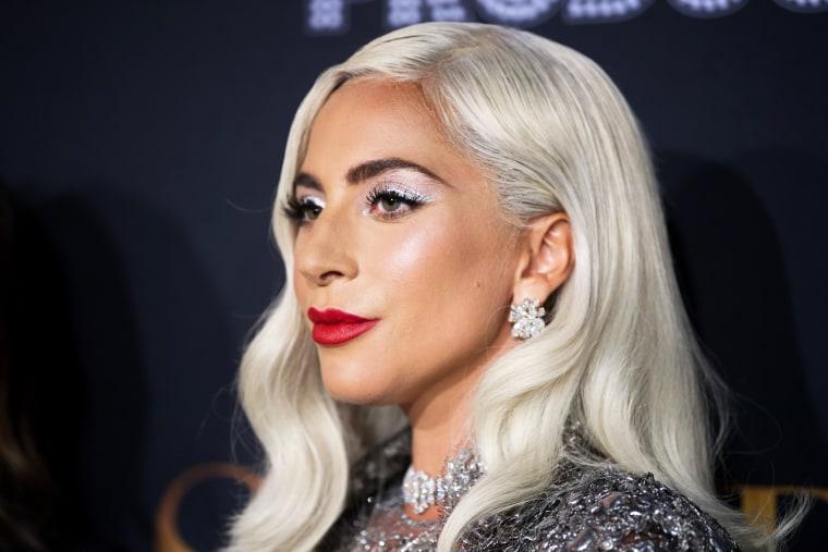 "Image: FILE: Lady Gaga?EUR(TM)s Dog Walker Was Shot, Dogs Stolen Premiere Of Warner Bros. Pictures' ""A Star Is Born"" - Red Carpet"